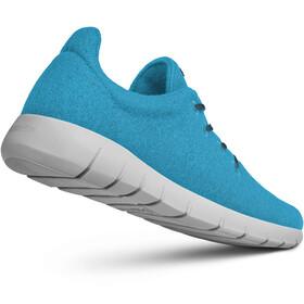 Giesswein Merino Wool Runners Hombre, cyan blue